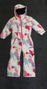 KOMBINEZON ROSSIGNOL KID MINI SUIT roz: 4 BIAŁY