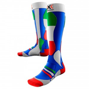 Skarpety X-SOCKS SKI PATRIOT WŁOCHY FLAGA