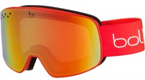 Gogle Bolle Nevada Matte Red Gradient / Photochromic Kat. S1-3