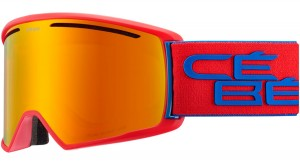 Gogle Cebe CORE L Mat Red Navy / Orange Kat.2