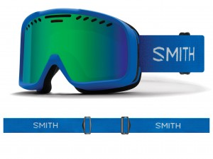 Gogle Smith Project Imperial Blue/Green Sol-X Kat.S3