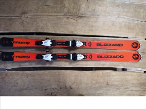 Narty Blizzard Firebird Jr 130-140 + Tyrolia 7.5 AC